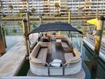 26 ft. Sun Tracker by Tracker Marine Party Barge 24 DLX w/60ELPT 4-S Pontoon Boat Rental Miami Image 12