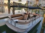 26 ft. Sun Tracker by Tracker Marine Party Barge 24 DLX w/60ELPT 4-S Pontoon Boat Rental Miami Image 13