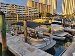 26 ft. Sun Tracker by Tracker Marine Party Barge 24 DLX w/60ELPT 4-S Pontoon Boat Rental Miami Image 15
