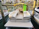 26 ft. Sun Tracker by Tracker Marine Party Barge 24 DLX w/60ELPT 4-S Pontoon Boat Rental Miami Image 16