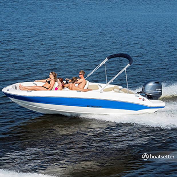 Rent a Stingray Boats bow rider in Miami Beach, FL near me