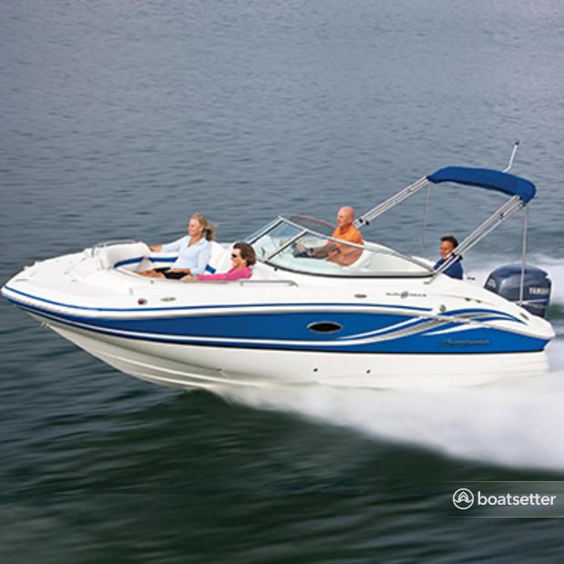 Rent a Hurricane Boats deck boat in Miami Beach, FL near me