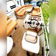 24 ft. Playbuoy Boats 2527 Marquis Pontoon Boat Rental Washington DC Image 3