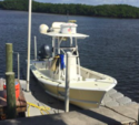 24 ft. 24 foot Hanson Flats and Bay w/F-200XB Yamaha Center Console Boat Rental The Keys Image 4