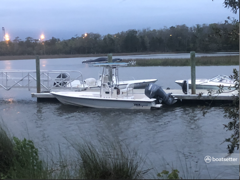 Rent a Pathfinder Boats center console in Mount Pleasant, SC near me