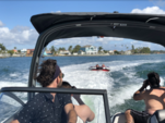 24 ft. Yamaha AR240 High Output  Jet Boat Boat Rental Tampa Image 3