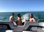 24 ft. Yamaha AR240 High Output  Jet Boat Boat Rental Tampa Image 7