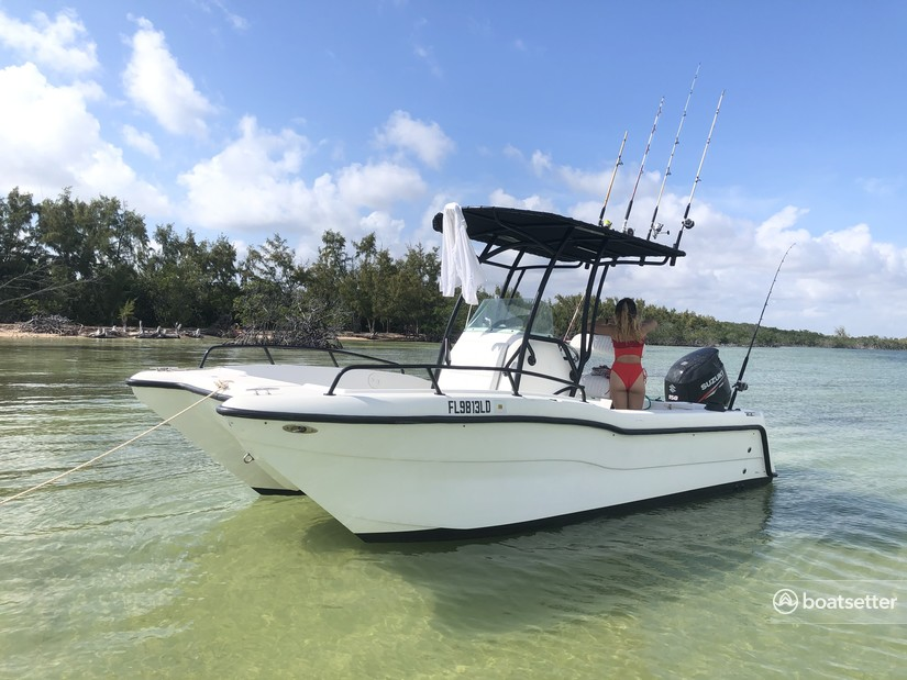 Rent a Angler Boats catamaran in Key Largo, FL near me