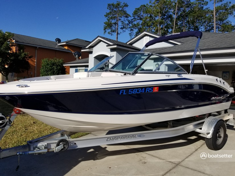 Rent a Chaparral Boats bow rider in Middleburg, FL near me