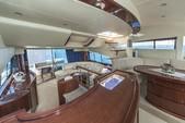 59 ft. Fairline Boats Squadron 58 Flybridge Boat Rental Miami Image 3