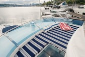 59 ft. Fairline Boats Squadron 58 Flybridge Boat Rental Miami Image 8