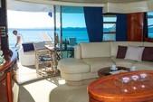 59 ft. Fairline Boats Squadron 58 Flybridge Boat Rental Miami Image 10