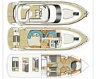 59 ft. Fairline Boats Squadron 58 Flybridge Boat Rental Miami Image 15