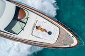 80 ft. Azimut Yachts 80 Carat Flybridge Boat Rental Miami Image 3