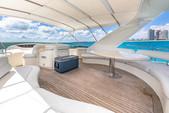 80 ft. Azimut Yachts 80 Carat Flybridge Boat Rental Miami Image 7