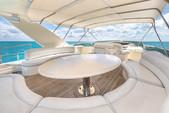 80 ft. Azimut Yachts 80 Carat Flybridge Boat Rental Miami Image 8