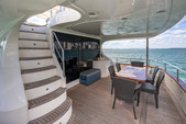 80 ft. Azimut Yachts 80 Carat Flybridge Boat Rental Miami Image 6