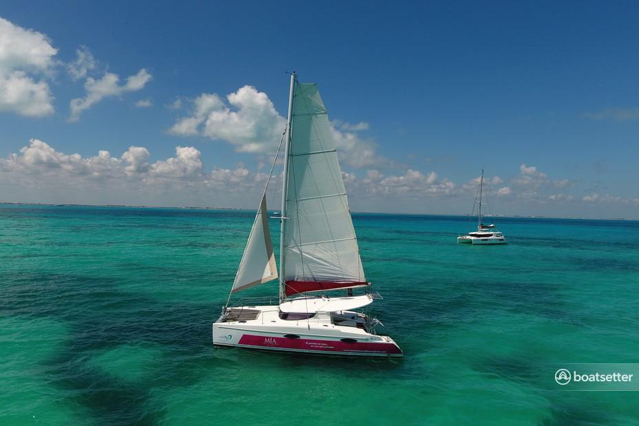 Rent a Fountaine Pajot catamaran in Isla Mujeres, Q.R. near me