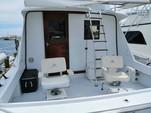 34 ft. Bertram Flybridge Cruiser Offshore Sport Fishing Boat Rental Cancún Image 4