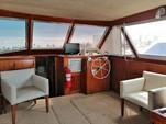 34 ft. Bertram Flybridge Cruiser Offshore Sport Fishing Boat Rental Cancún Image 7