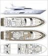 80 ft. Dominator Dominator Flybridge 80 Motor Yacht Flybridge Boat Rental Miami Image 8