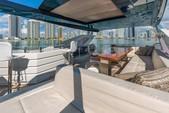 80 ft. Dominator Dominator Flybridge 80 Motor Yacht Flybridge Boat Rental Miami Image 3