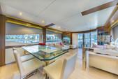 80 ft. Dominator Dominator Flybridge 80 Motor Yacht Flybridge Boat Rental Miami Image 16