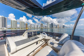 80 ft. Dominator Dominator Flybridge 80 Motor Yacht Flybridge Boat Rental Miami Image 18