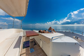 80 ft. Dominator Dominator Flybridge 80 Motor Yacht Flybridge Boat Rental Miami Image 19