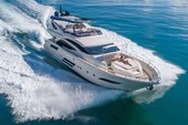 80 ft. Dominator Dominator Flybridge 80 Motor Yacht Flybridge Boat Rental Miami Image 24