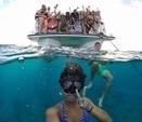50 ft. Corinthian Power Cat Catamaran Boat Rental Hawaii Image 6