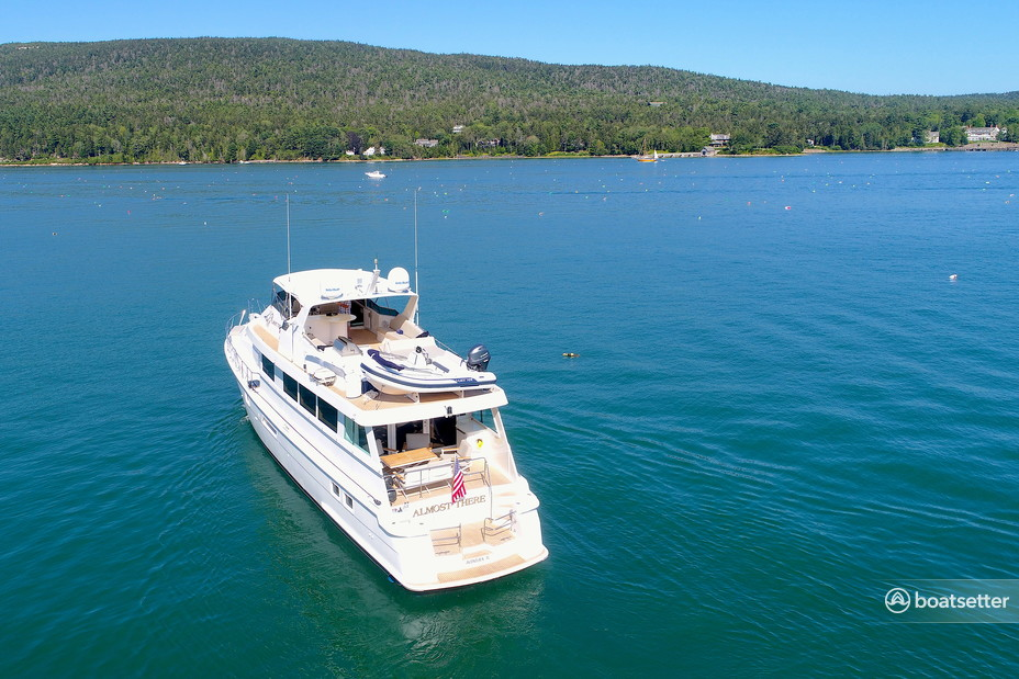Rent a Hatteras Yachts motor yacht in North Miami Beach, FL near me
