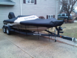 21 ft. Nitro by Tracker Marine 929 CDX SC w/225 Merc  Bass Boat Boat Rental Chicago Image 5