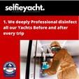 50 ft. Dyna 50' Flybridge Motor Yacht Boat Rental Miami Image 30