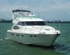 50 ft. Dyna 50' Flybridge Motor Yacht Boat Rental Miami Image 28