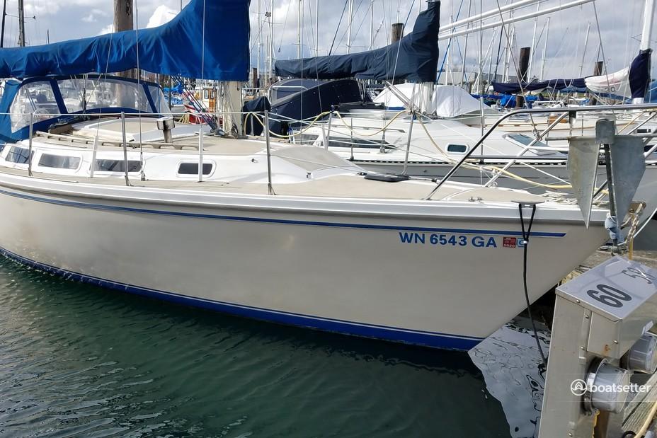 Rent a Catalina cruiser in Anacortes, WA near me