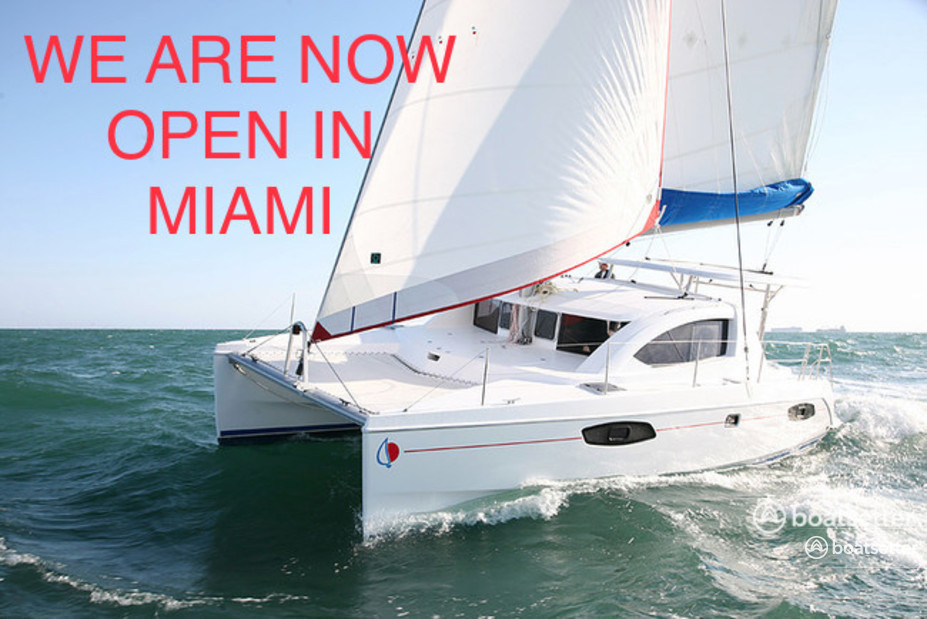 Rent a SUNSAIL catamaran in Miami, FL near me