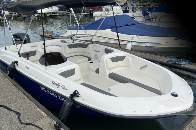 Rent a Bayliner bow rider in Cornelius, NC near me