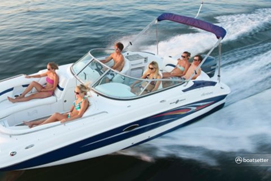 Rent a Hurricane Boats deck boat in Clearwater, FL near me
