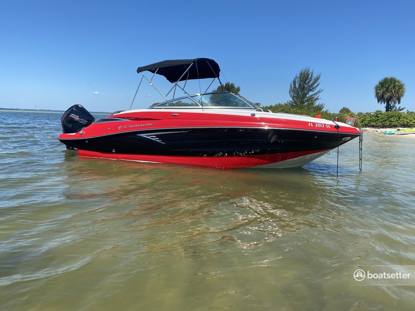 Rent a Crownline runabout in Tampa, FL near me