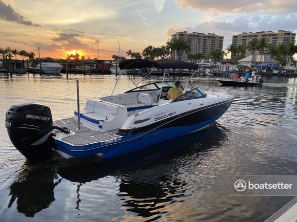 Rent a Monterey Boats bow rider in Cape Coral, FL near me