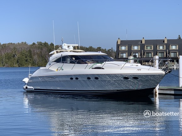 Rent a Neptunus Yachts express cruiser in Jersey City, NJ near me