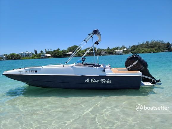 Rent a Bayliner deck boat in Holmes Beach, FL near me
