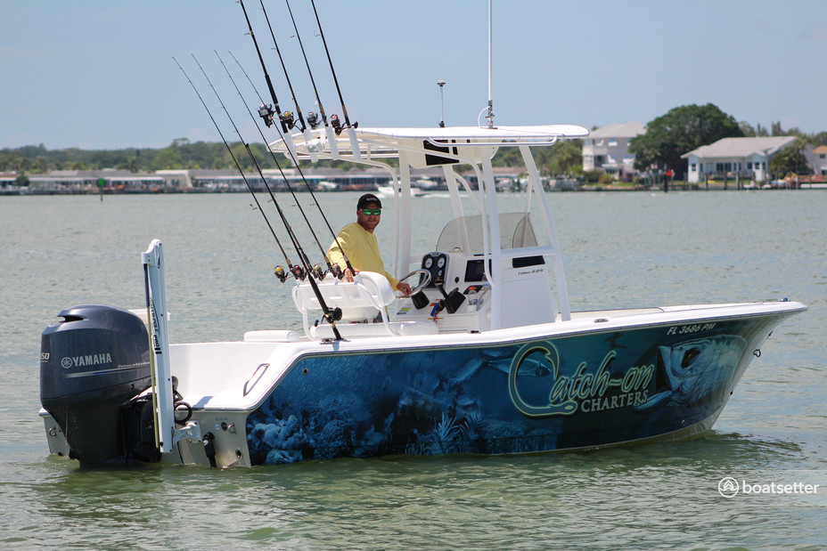 Rent a Sea Hunt Boats center console in Bay Pines, FL near me