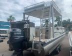 27 ft. Bennington Marine 2575QCW Sport Tower ESP Tri-Toon Pontoon Boat Rental Tampa Image 3