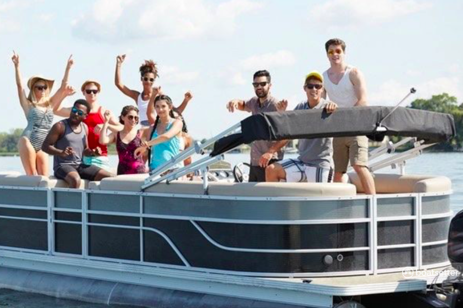 Rent a Godfrey Marine pontoon in St. Pete Beach, FL near me