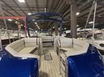 27 ft. Harris FloteBote 250 Crowne Triple Tube w/250 Verado Pontoon Boat Rental Chicago Image 3