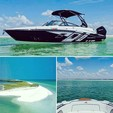 27 ft. Monterey Boats 264FSC Bow Rider Boat Rental Tampa Image 9