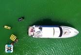 58 ft. Sea Ray Boats  65' Princess Cruiser Boat Rental Miami Image 20