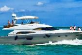 58 ft. Sea Ray Boats  65' Princess Cruiser Boat Rental Miami Image 28
